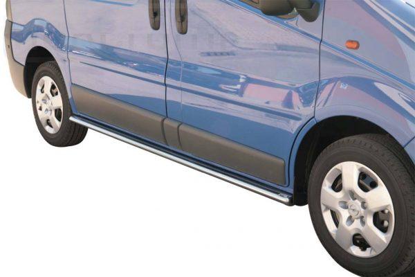 Opel Vivaro 2008 2013 - oldalsó fellépő ovális csőből - mt-302
