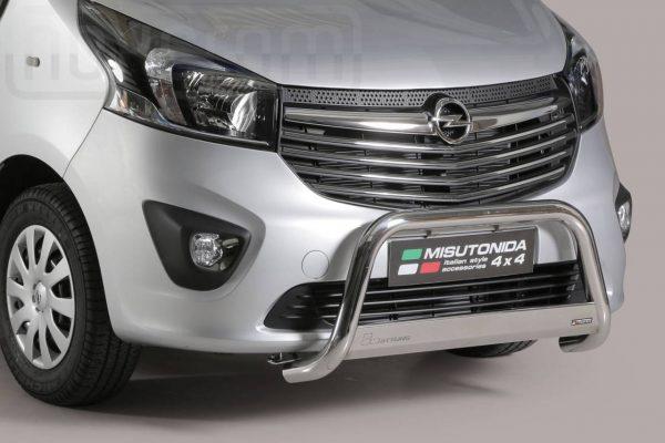 Opel Vivaro Lwb 2014 2018 - EU engedélyes Gallytörő rács - mt-133