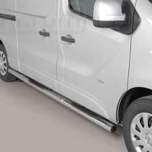 Opel Vivaro Lwb 2014 2018 - Csőküszöb, műanyag betéttel - mt-181