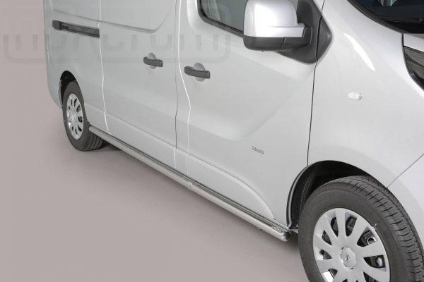 Opel Vivaro Lwb 2014 2018 - oldalsó csőküszöb - mt-288
