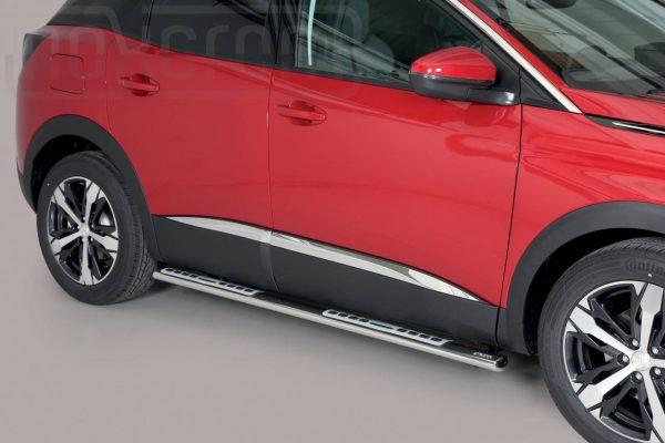 Peugeot 3008 2016 - ovális oldalfellépő betéttel - mt-111