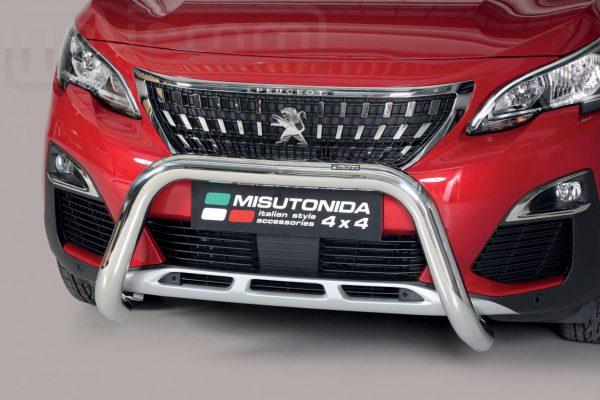 Peugeot 3008 2016 - EU engedélyes Gallytörő rács - U alakú - mt-157