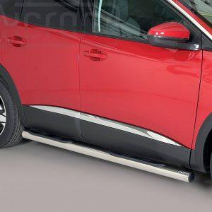 Peugeot 3008 2016 - Csőküszöb, műanyag betéttel - mt-178