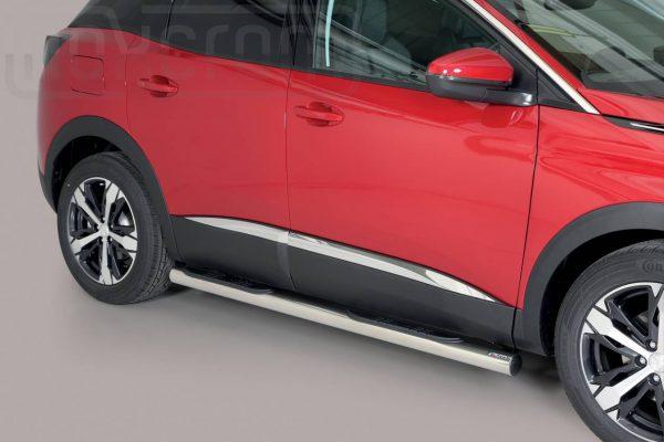 Peugeot 3008 2016 - Csőküszöb, műanyag betéttel - mt-179