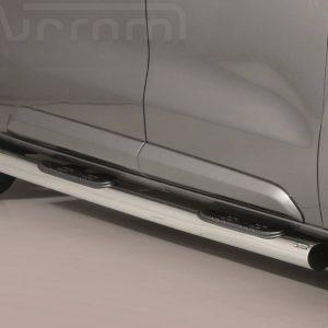 Peugeot Expert Traveller Mwb Lwb 2016 - Csőküszöb, műanyag betéttel - mt-186
