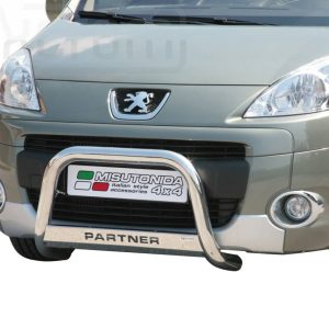 Peugeot Partner 2008 2015 - EU engedélyes Gallytörő rács - feliratos - mt-153