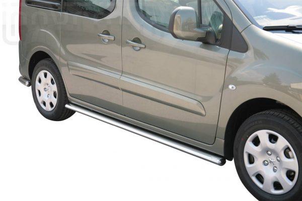 Peugeot Partner 2008 2015 - oldalsó fellépő ovális csőből - mt-302