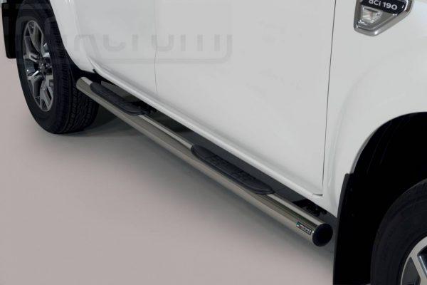 Renault Alaskan 2018 - Csőküszöb, műanyag betéttel - mt-178