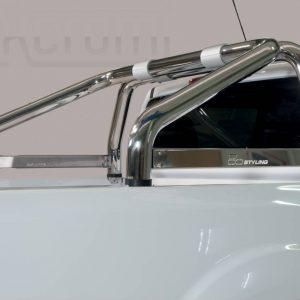 Renault Alaskan 2018 - Szimpla borulásvédő - összekötővel - mt-260