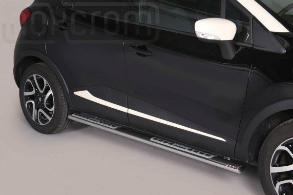 Renault Captur 2013 2017 - ovális oldalfellépő betéttel - mt-111