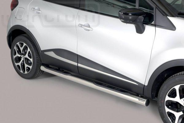 Renault Captur 2018 - Csőküszöb, műanyag betéttel - mt-178