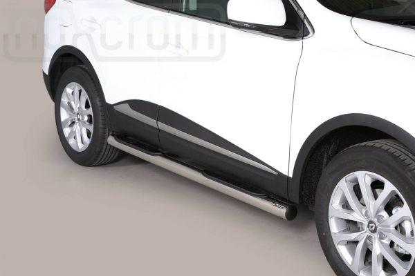 Renault Kadjar 2015 - Csőküszöb, műanyag betéttel - mt-178