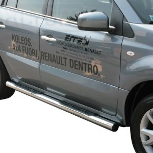 Renault Koleos 2008 2011 - Csőküszöb, műanyag betéttel - mt-178