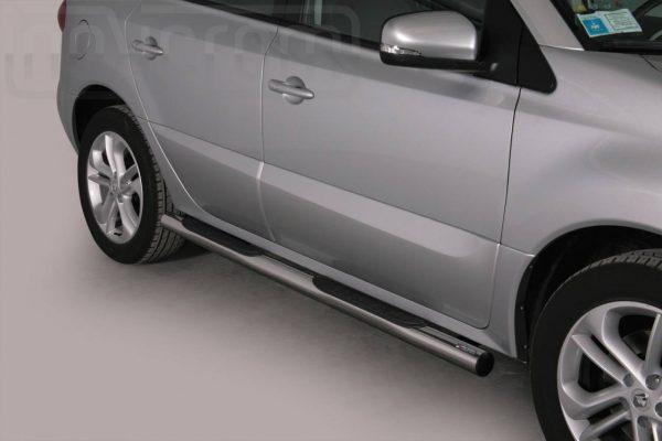 Renault Koleos 2011 - Csőküszöb, műanyag betéttel - mt-178