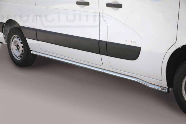 Renault Master 2010 2018 - oldalsó csőküszöb - mt-275