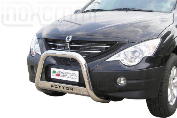 Ssangyong Actyon 2006 - EU engedélyes Gallytörő rács - feliratos - mt-153