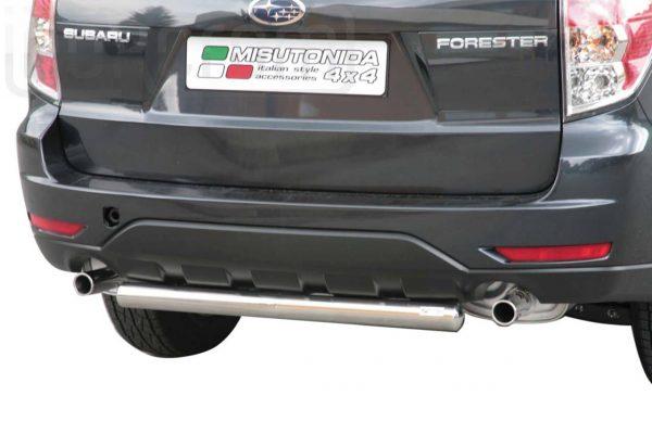 Subaru Forester 2008 2012 - Hátsó lökhárító - mt-229
