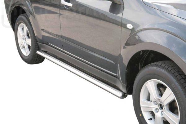 Subaru Forester 2008 2012 - oldalsó fellépő ovális csőből - mt-302