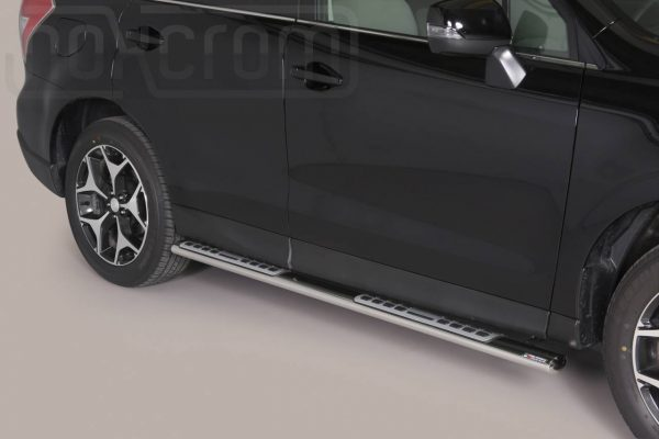 Subaru Forester 2013 2015 - ovális oldalfellépő betéttel - mt-111