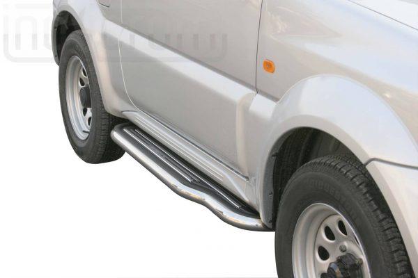 Suzuki Jimny 2006 2012 - Lemezbetétes oldalfellépő - mt-227