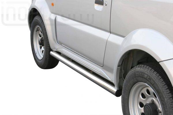 Suzuki Jimny 2006 2012 - oldalsó csőküszöb - mt-301