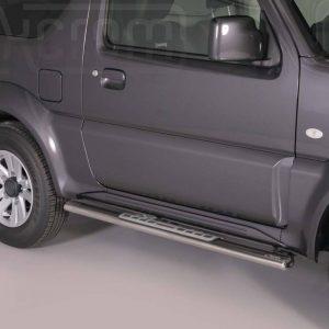 Suzuki Jimny 2012 2017 - ovális oldalfellépő betéttel - mt-111
