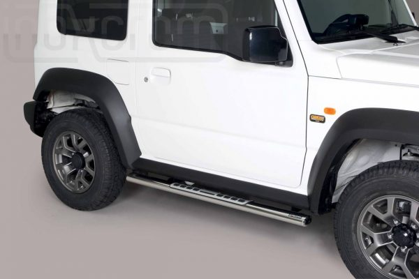 Suzuki Jimny 2018 - ovális oldalfellépő betéttel - mt-111