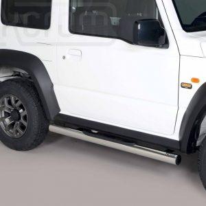 Suzuki Jimny 2018 - Csőküszöb, műanyag betéttel - mt-178