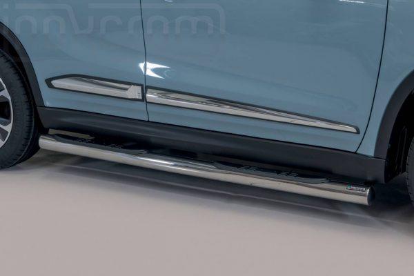 Suzuki Vitara 2019 - Csőküszöb, műanyag betéttel - mt-178