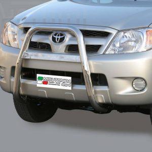 Toyota Hi Lux Double Cab 2006 2011 - EU engedélyes Gallytörő rács - magasított - mt-214