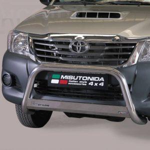 Toyota Hi Lux Double Cab 2011 2015 - EU engedélyes Gallytörő rács - mt-133