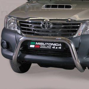 Toyota Hi Lux Double Cab 2011 2015 - EU engedélyes Gallytörő rács - U alakú - mt-157