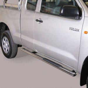 Toyota Hi Lux Double Cab 2011 2015 - Ovális oldalfellépő - mt-192