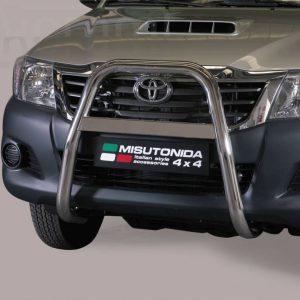 Toyota Hi Lux Double Cab 2011 2015 - EU engedélyes Gallytörő rács - magasított - mt-214