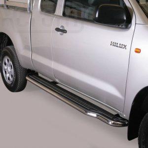 Toyota Hi Lux Double Cab 2011 2015 - Lemezbetétes oldalfellépő - mt-221