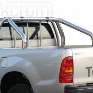 Toyota Hi Lux Double Cab 2011 2015 - Szimpla borulásvédő - mt-246