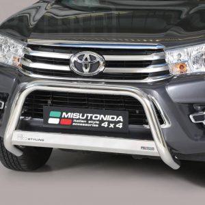 Toyota Hi Lux Double Cab 2016 2018 - EU engedélyes Gallytörő rács - mt-133