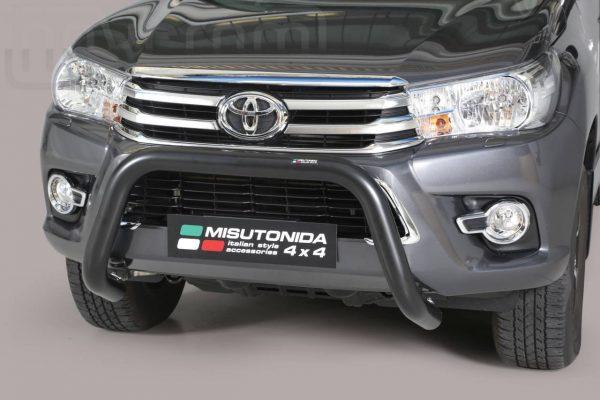 Toyota Hi Lux Double Cab 2016 2018 - U alakú EU engedélyes Gallytörő rács - mt-164
