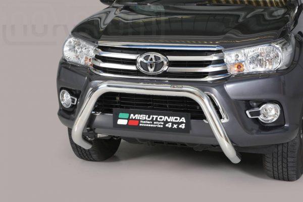 Toyota Hi Lux Double Cab 2016 2018 - EU engedélyes Gallytörő rács - U alakú - mt-157