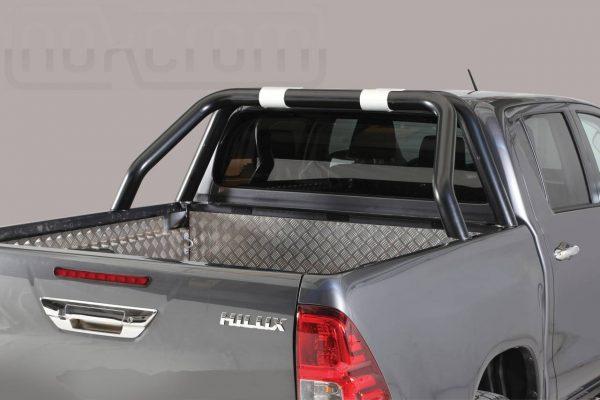 Toyota Hi Lux Double Cab 2016 2018 - Dupla borulásvédő - rövid - mt-238