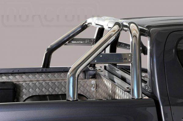 Toyota Hi Lux Double Cab 2016 2018 - Szimpla borulásvédő - összekötővel - mt-260