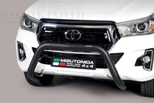 Toyota Hi Lux Double Cab 2019 - U alakú EU engedélyes Gallytörő rács - mt-164