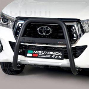 Toyota Hi Lux Double Cab 2019 - EU engedélyes Gallytörő rács - magasított - mt-217