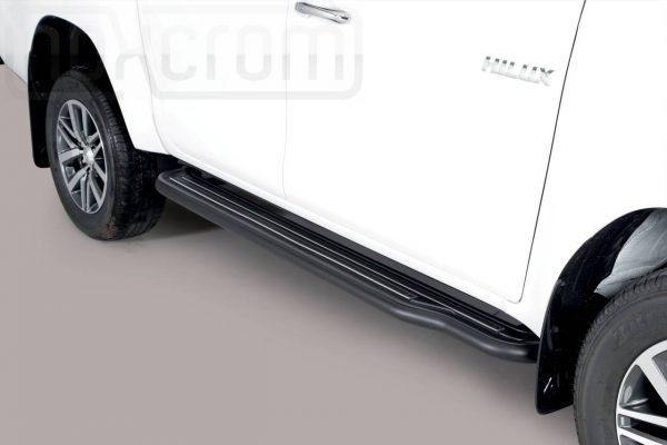 Toyota Hi Lux Double Cab 2019 - Lemezbetétes oldalfellépő - mt-224