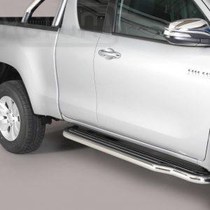 Toyota Hi Lux Extra Cab 2016 - Lemezbetétes oldalfellépő - mt-221