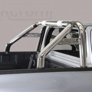 Toyota Hi Lux Extra Cab 2016 - Dupla borulásvédő - összekötővel rövid - mt-239