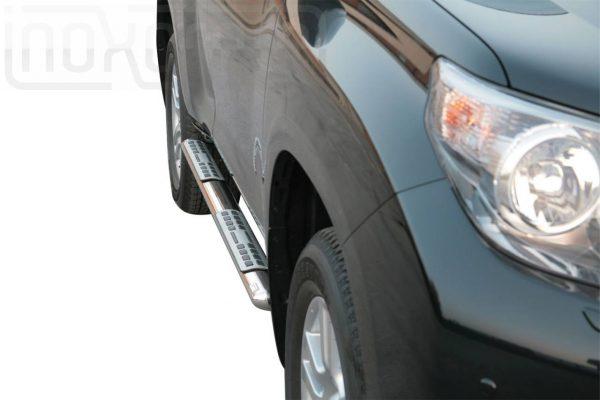 Toyota Land Cruiser 150 5 Ajtos 2009 2013 - ovális oldalfellépő betéttel - mt-111