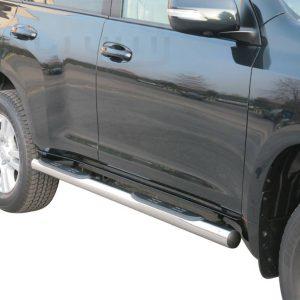 Toyota Land Cruiser 150 5 Ajtos 2009 2013 - Csőküszöb, műanyag betéttel - mt-178