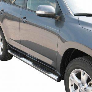 Toyota Rav 4 2009 2010 - Csőküszöb, műanyag betéttel - mt-178