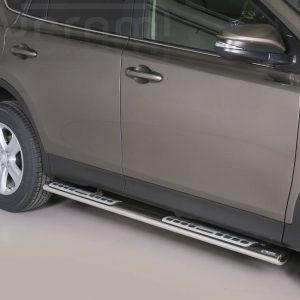 Toyota Rav 4 2013 2015 - ovális oldalfellépő betéttel - mt-111